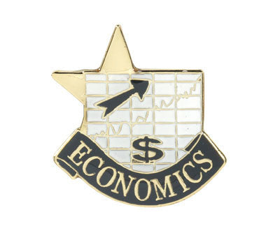 Economics Achievement Lapel Pins