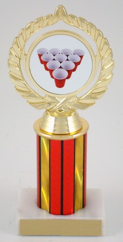 Beer Pong Rack Trophy - Medium-Trophies-Schoppy's Since 1921