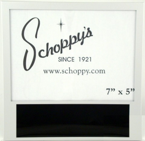 "7"" x 5"" Silver Picture Frame-Frame-Schoppy's Since 1921"