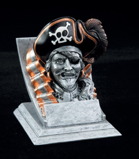 Pirate Spirit Mascot Resin Trophy
