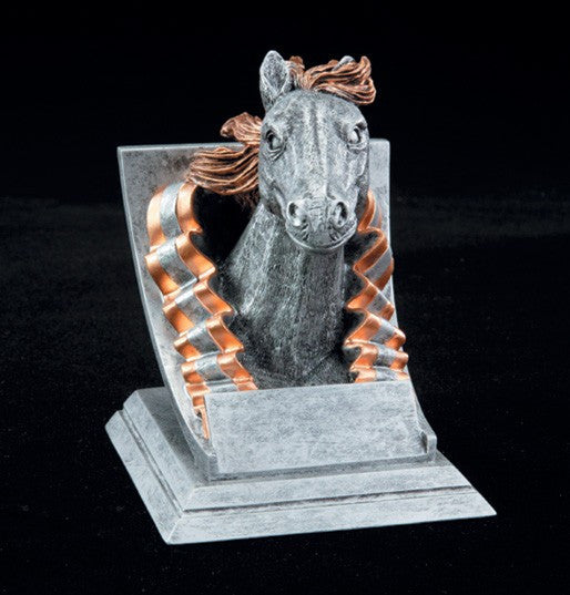 Mustang Spirit Mascot Resin Trophy-Trophies-Schoppy's Since 1921