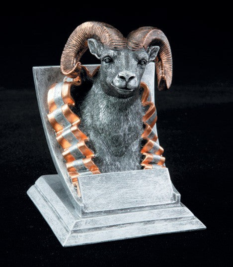 Ram Spirit Mascot Resin Trophy-Trophies-Schoppy's Since 1921