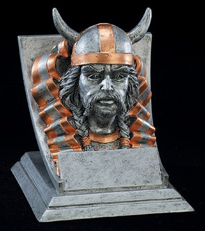 Viking Spirit Mascot Resin Trophy
