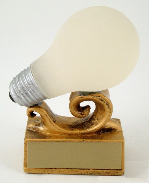 Light Bulb Trophy