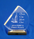 Acrylic Sailboat Award-Acrylic-Schoppy's Since 1921