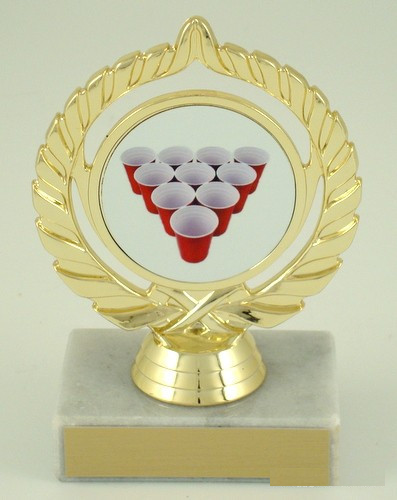 Beer Pong Rack Trophy – Small