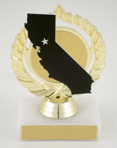 California State Cutout Trophy