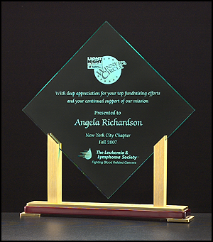 Acrylic Award - Diamond Acrylic
