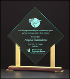 Acrylic Award - Diamond Acrylic-Plaque-Schoppy's Since 1921