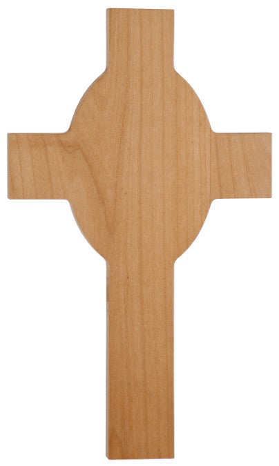 UV Direct Print Wooden Cross With Engraved Message