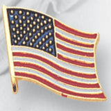 American Flag Pin 1/2 inch-Jewelry-Schoppy's Since 1921
