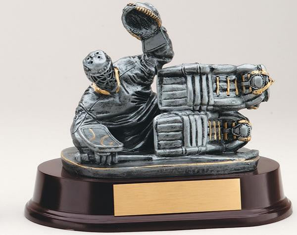 Hockey Goalie Stacked Pads Resin Trophy-Trophies-Schoppy's Since 1921