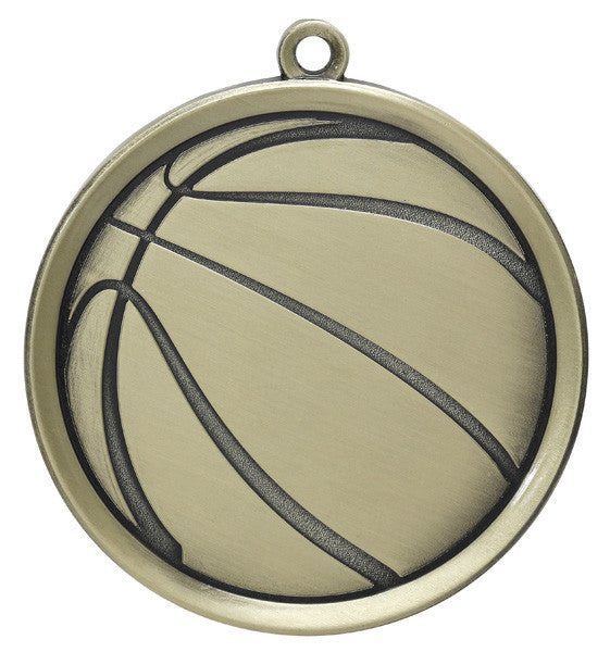 Basketball Mega Medal-Medals-Schoppy's Since 1921