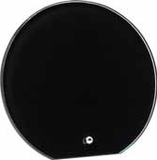 Black Glass Circle Plaque-Glass & Crystal Award-Schoppy's Since 1921
