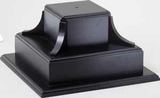 Two Tier Ebony Base B size-Base-Schoppy's Since 1921