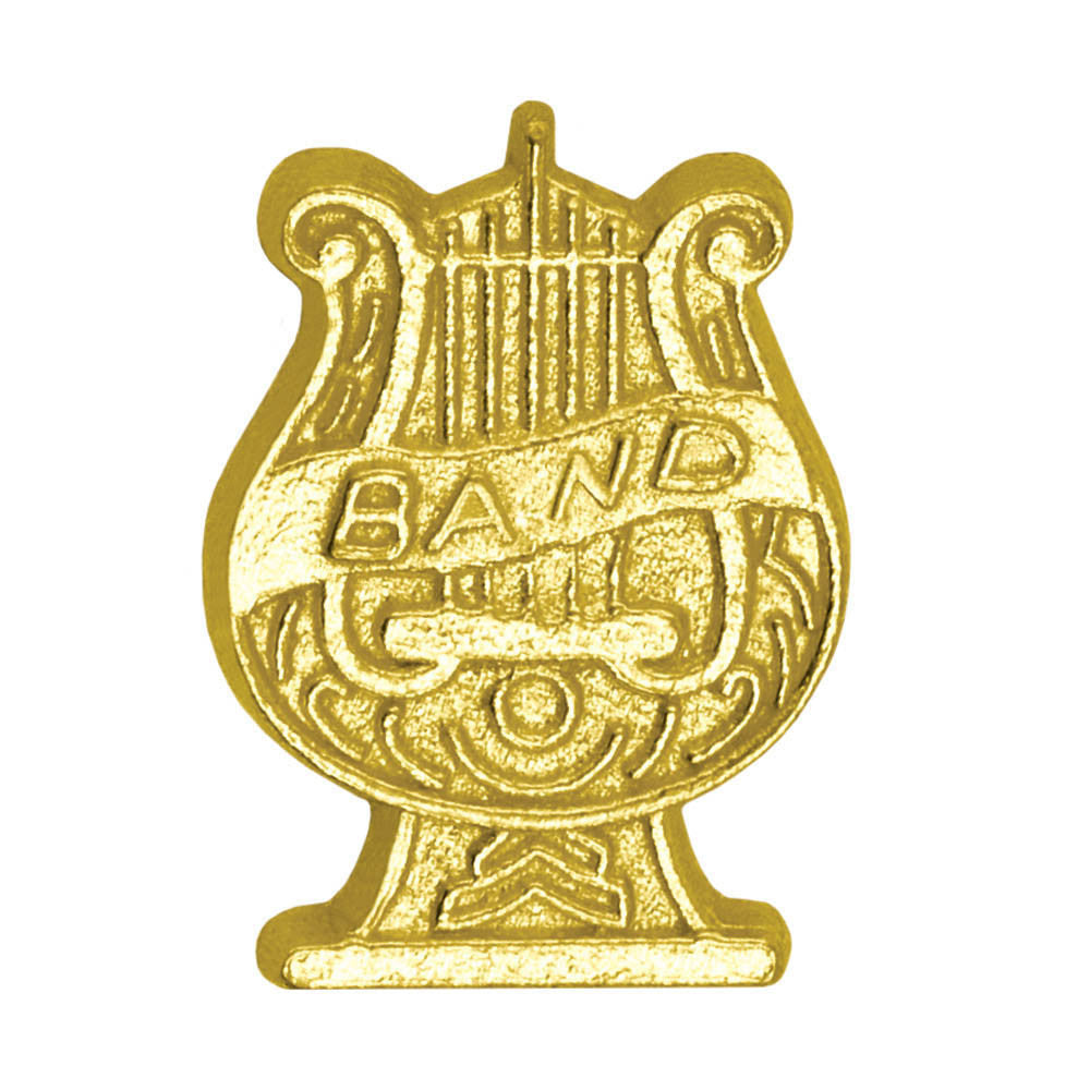 Band Lyre Chenille Pin