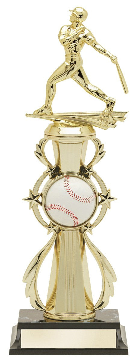 Baseball Pre-Built All-Star Trophy-Trophies-Schoppy's Since 1921