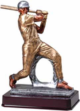 Baseball Slugger Resin Trophy-Trophies-Schoppy's Since 1921