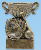 Baseball Sport Cup Resin Trophy-Trophies-Schoppy's Since 1921