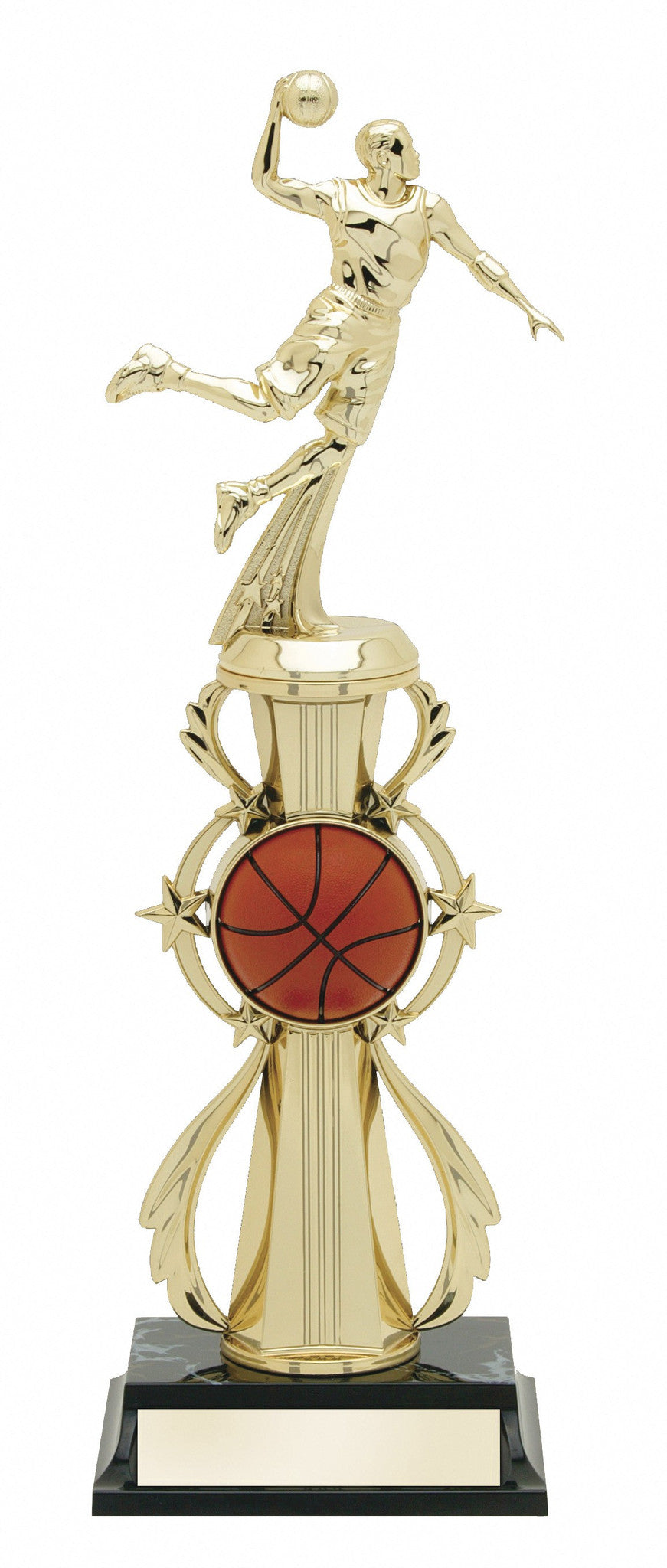 Basketball Pre-Built All-Star Trophy Male-Trophies-Schoppy's Since 1921