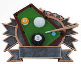 Billiards Resin Trophy-Trophies-Schoppy's Since 1921