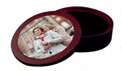CD or DVD Mahogany Keepsake Photo Case
