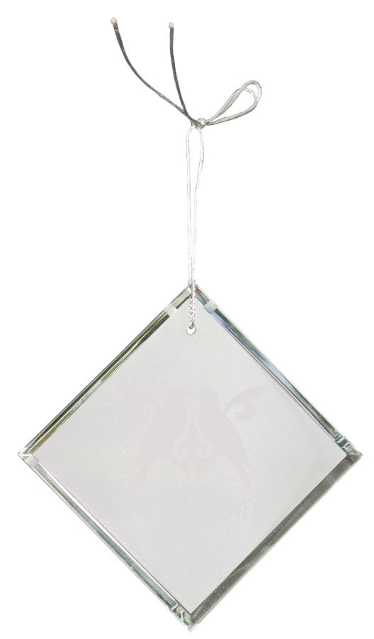 "3"" Crystal Diamond Ornament"