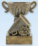 Cheerleading Sport Cup Resin Trophy-Trophies-Schoppy's Since 1921
