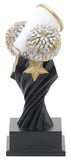 Cheerleading Tempest Resin Trophy-Trophies-Schoppy's Since 1921