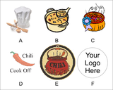 Chili Cooking Contest Logo Medal-Medals-Schoppy's Since 1921