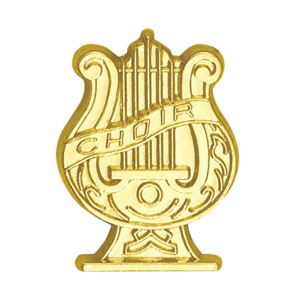 Choir Chenille Pin