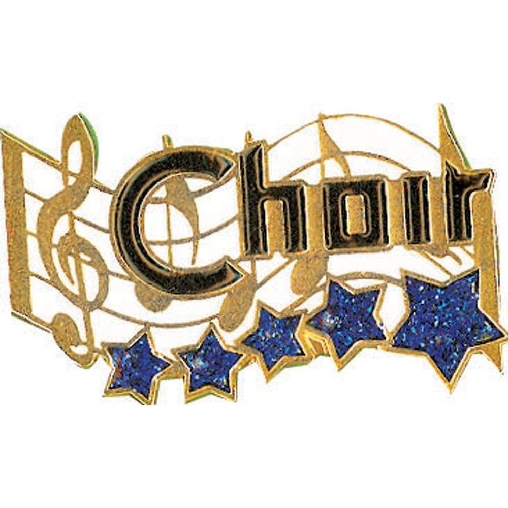 Choir Star Lapel Pin