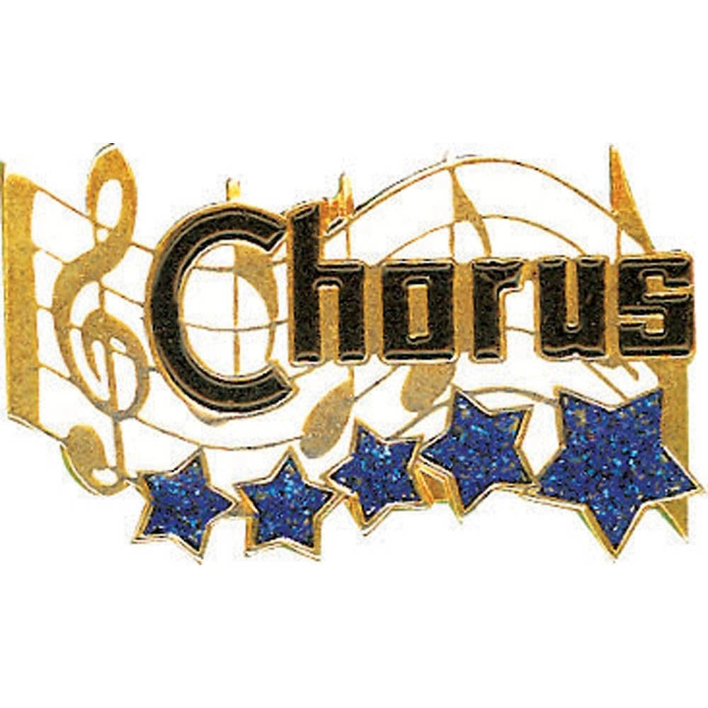 Chorus Star Lapel Pin