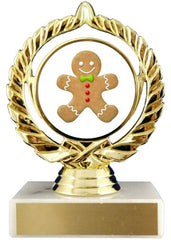 Christmas Cookie Logo Trophy-Trophy-Schoppy's Since 1921