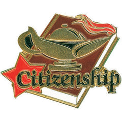 Citizenship Lamp of Learning Pin-Pin-Schoppy's Since 1921