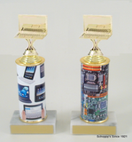 Computer Trophy on Original Metal Roll Column-Trophies-Schoppy's Since 1921