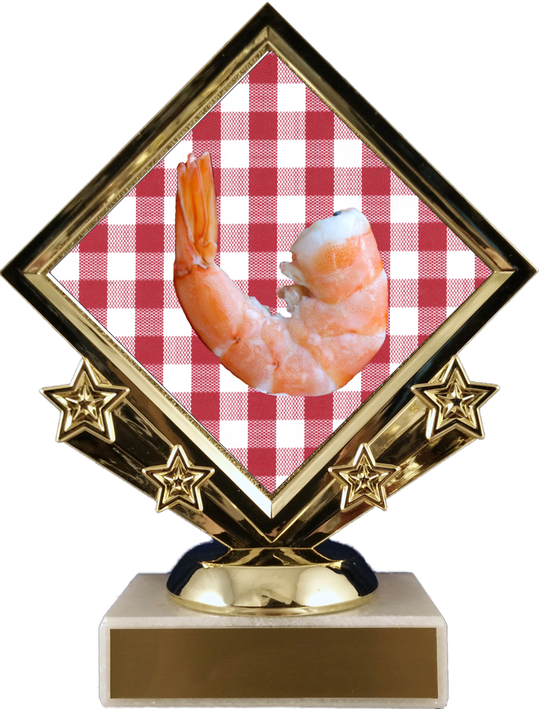 Diamond Star Shrimp Trophy