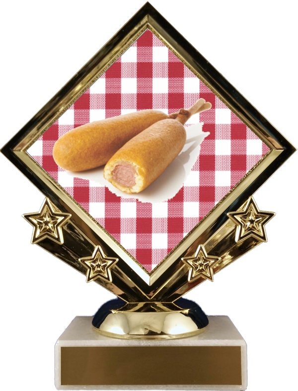 Diamond Star Corn Dogs Trophy