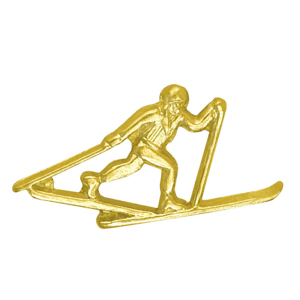 Cross Country Skiing Chenille Pin-Pin-Schoppy's Since 1921