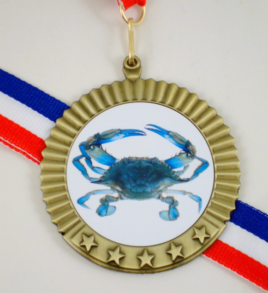 Blue Crab Medal