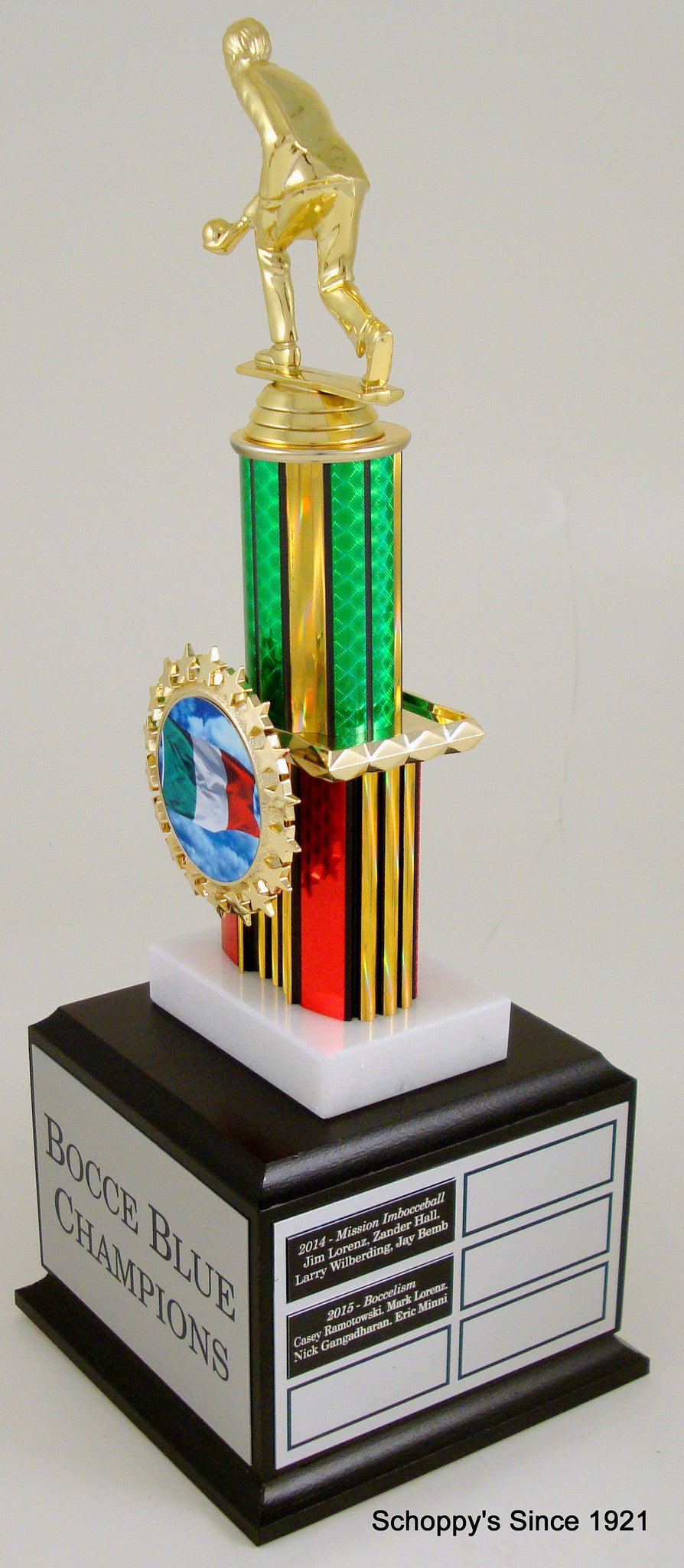 Bocce Ball Perpetual Trophy