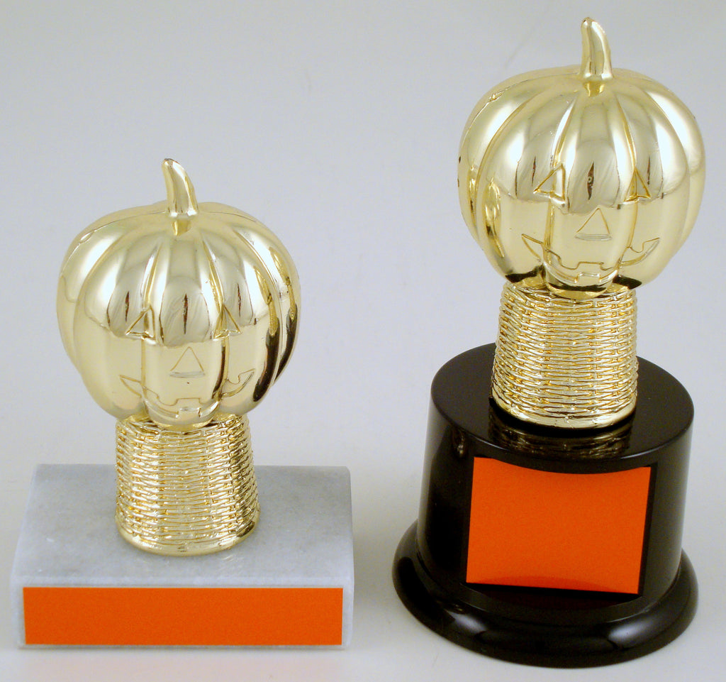 Halloween Pumpkin Trophy