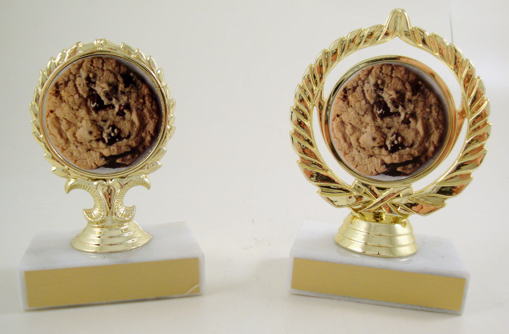 Cookie Logo Trophy on Marble Base