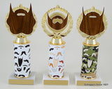Beard Trophy on Original Metal Roll Column-Trophies-Schoppy's Since 1921