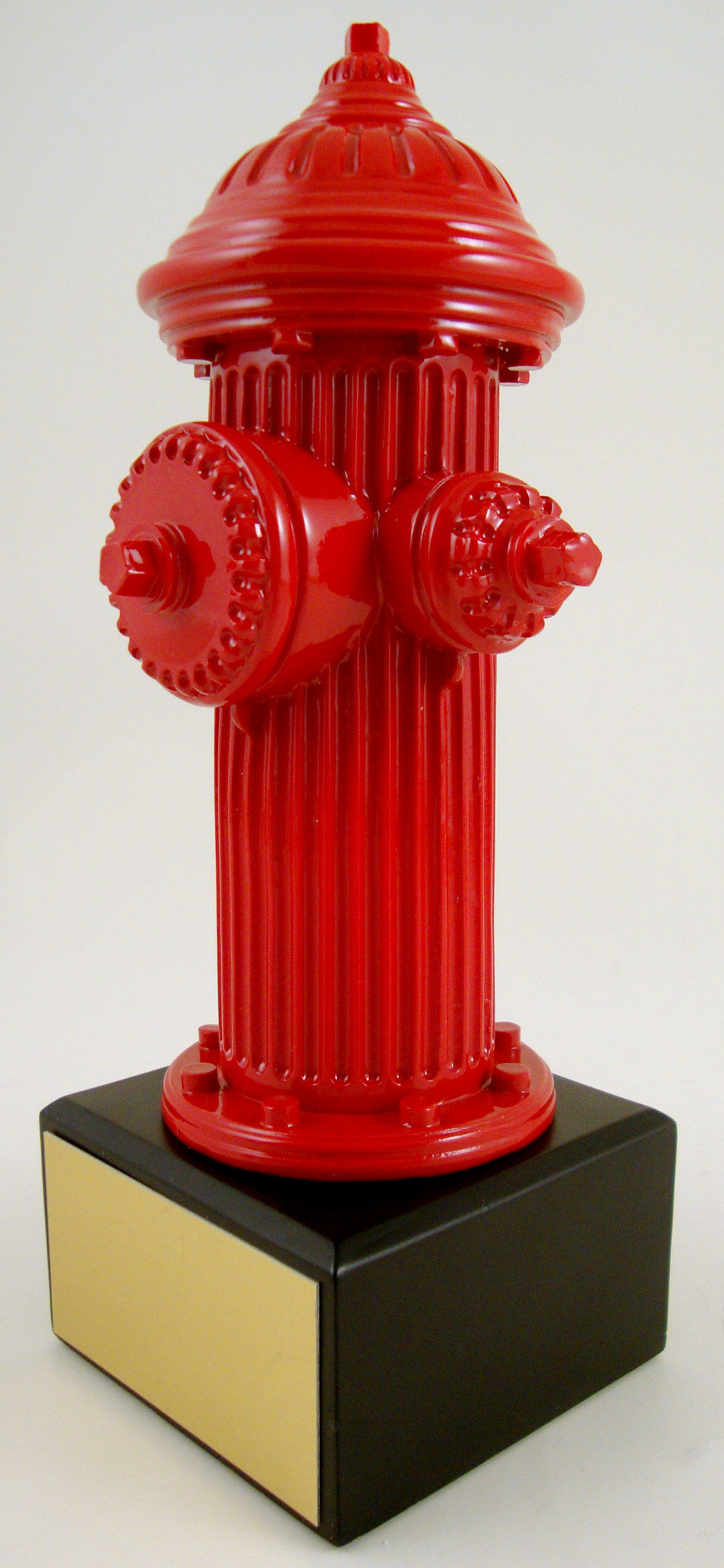 Fire Hydrant Resin On Black Square Base-Trophy-Schoppy's Since 1921
