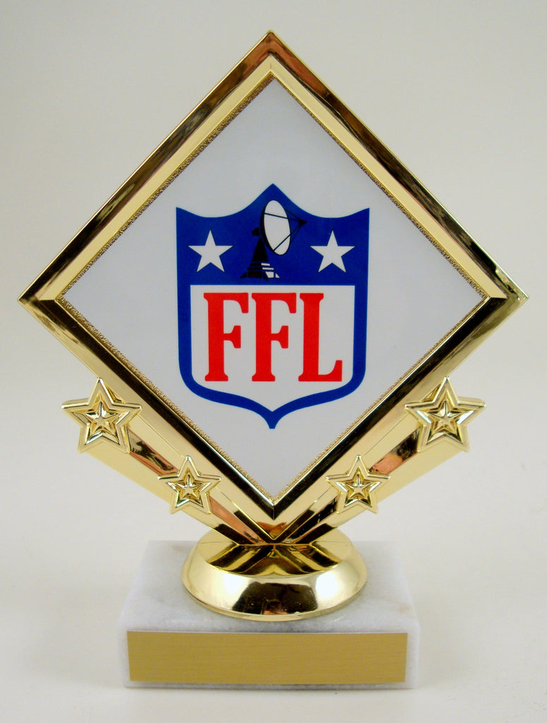 Fantasy Football Diamond Star Trophy