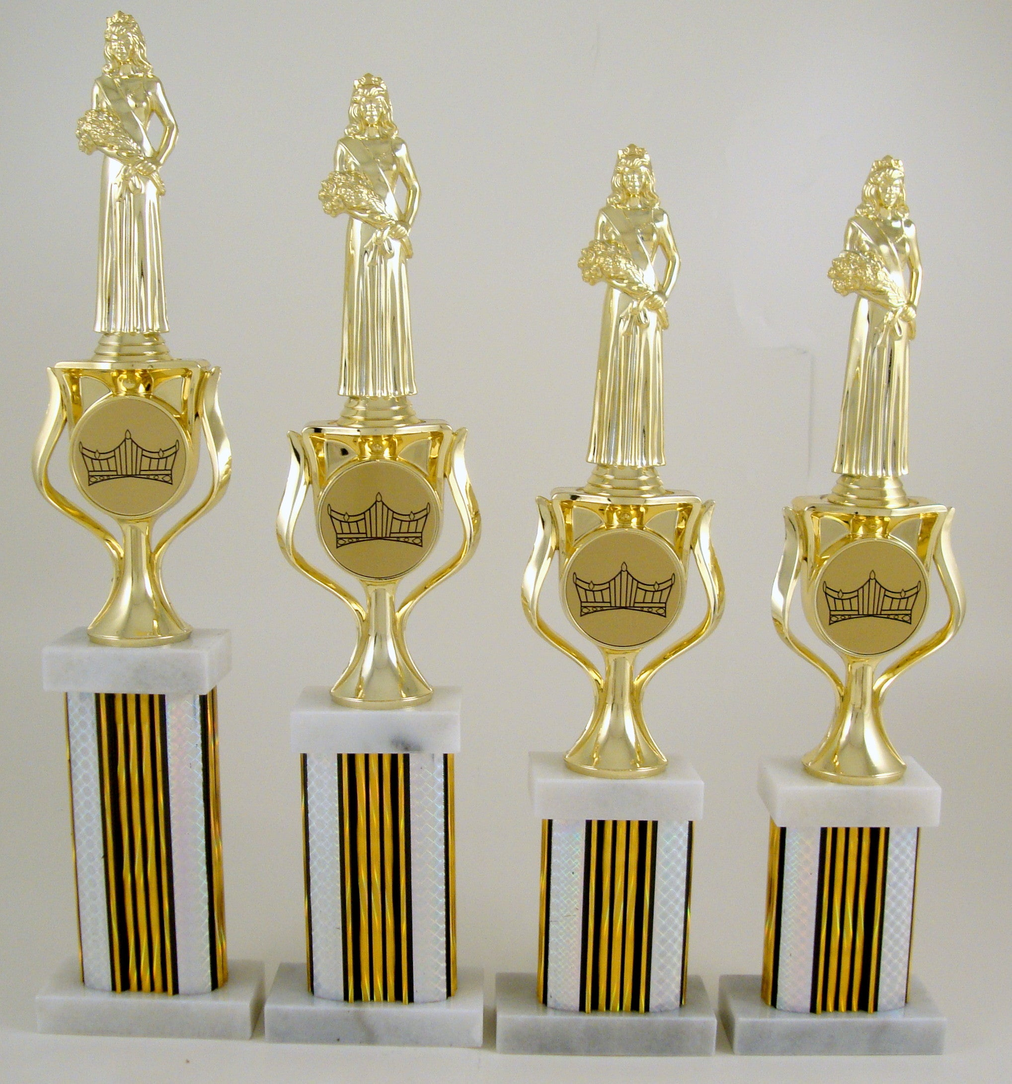 Pageant Column Trophy Set-Trophies-Schoppy's Since 1921