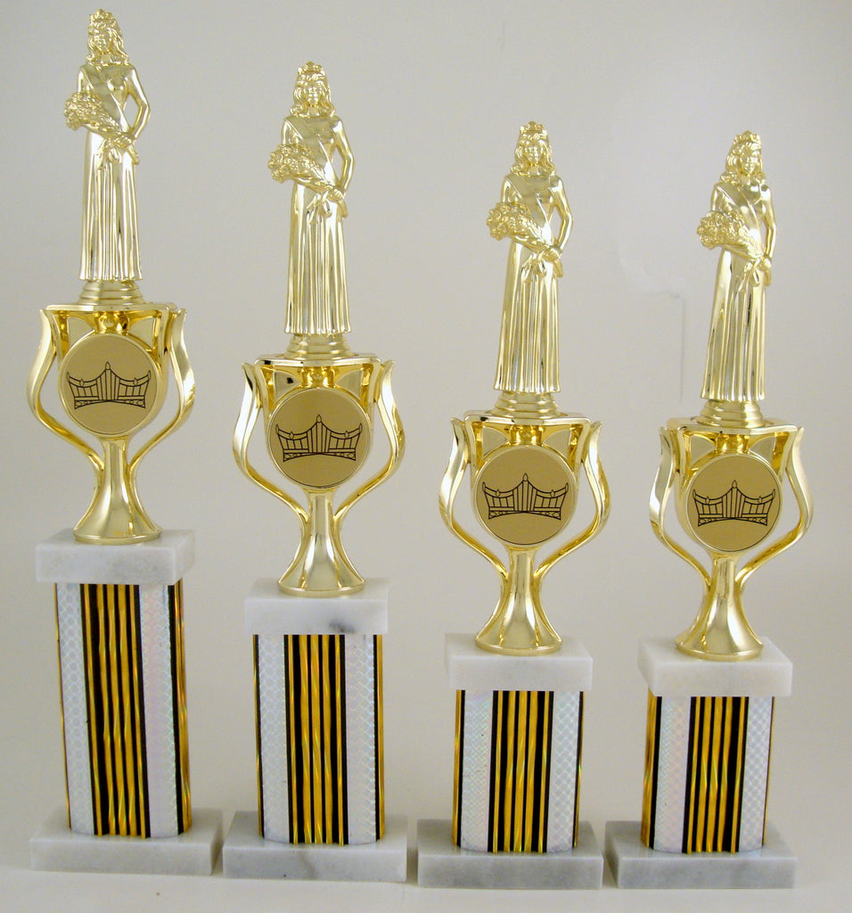 Pageant Column Trophy Set