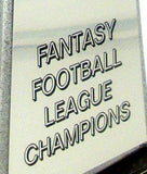 Fantasy Football Championship Trophy on Black Wood Base - Small-Trophy-Schoppy's Since 1921