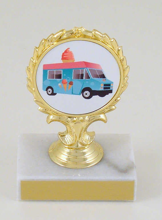 Food Truck Logo Trophy-Trophy-Schoppy's Since 1921